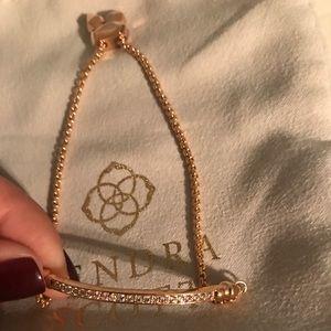 New Kendra Scott Ott Bracelet Rose Gold